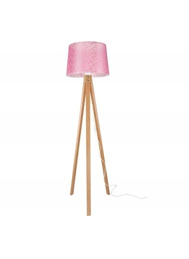 Modelight Modelight Deko Lambader Bambu Ayak / File Pembe Şapka Renksiz